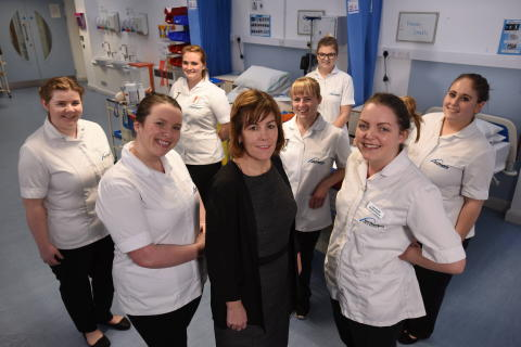 First students in the UK due to graduate from a new pre-nursing course
