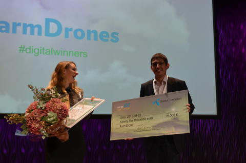 Grand prize winner announced in the 2015 Nordic IoT Challenge