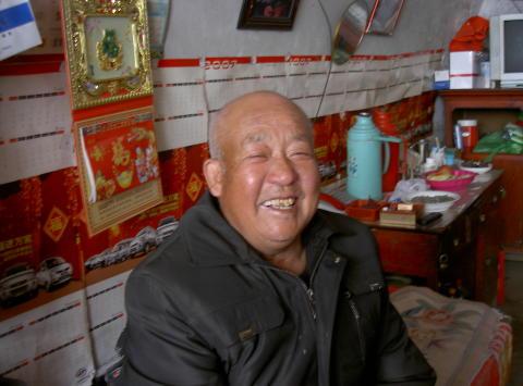 Li Wen Ji från byn Liu Lin i Kina