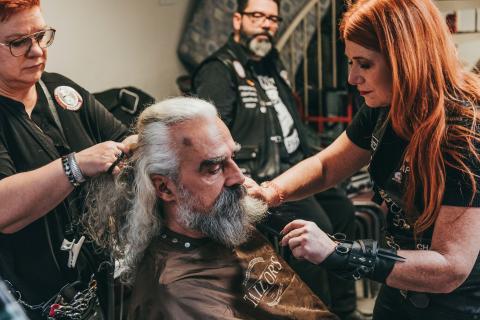 Resultado de imagen de barber angels