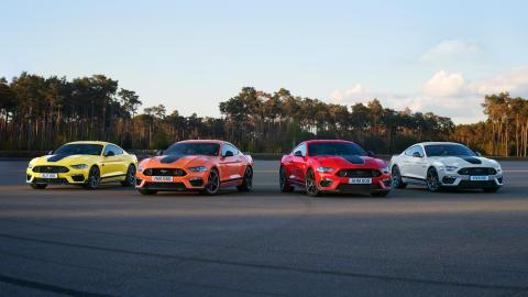 Ford Mustang Mach 1 lover chokbølger på racerbanen med 0-100 km/t på blot 4,4 sekund