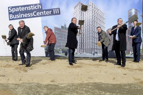 ZÜBLIN, Spatenstich Business Center III, Braunschweig