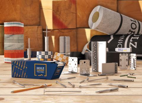 Ergofast och Derome gör gemensam satsning på modernt trähusbyggande med Holz Technic