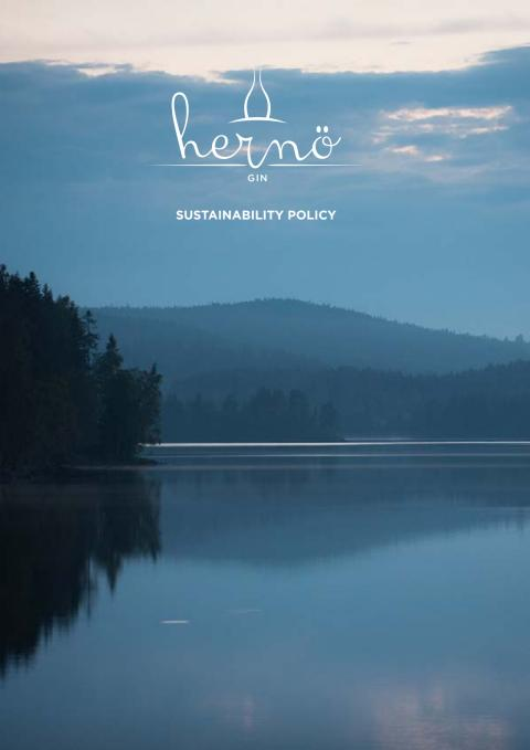 Hernö Gin Corporate Social Responsibility Policy
