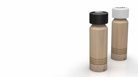 Peugeots salt- och pepparkvar, Milano, är designade av Peugeot Desing Lab