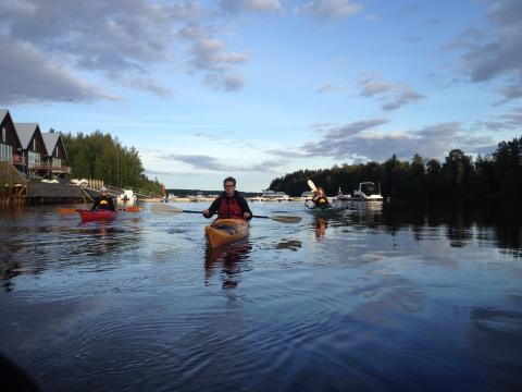 Paddling i Umeåregionen