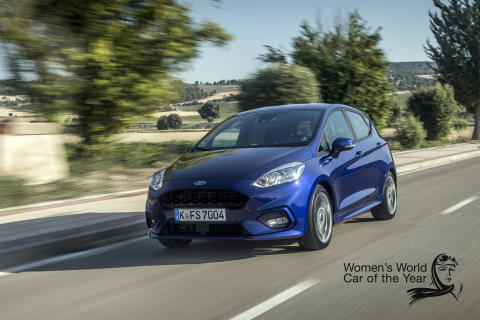 Ford Fiesta Womens world car of the year 2017