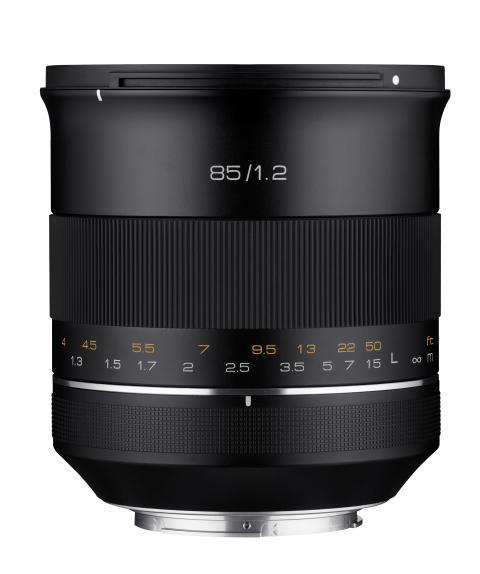 Samyang XP 85mm F1.2 Canon EF (3)