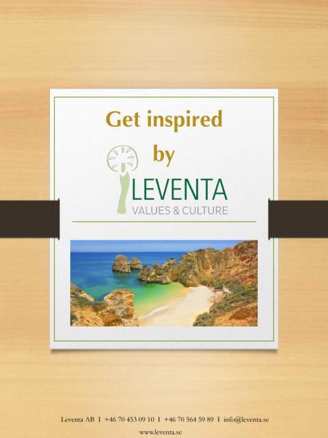 Get inspired by Leventa, eng