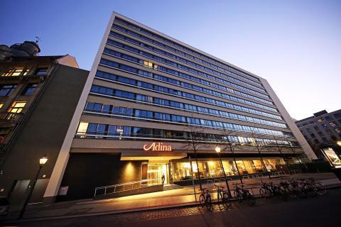 Außenansicht des Adina Apartment Hotels