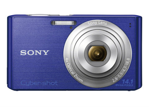 Cyber-shot DSC-W610 von Sony_Blau_01