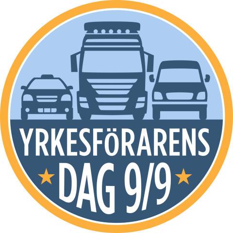 Yrkesförarens dag firas den 9 September!