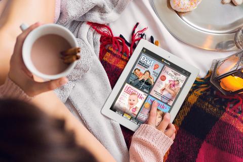 5 Magazine, mit denen Eltern über Weihnachten entspannen können