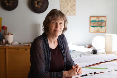 Karin Rehnqvist tilldelas Järnåkerstipendiet/Karin Rehnqvist is awarded the Järnåker Scholarship