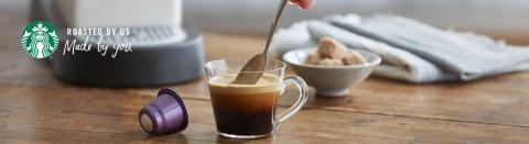 NYHET! Starbucks® lanserar espressokapslar i Sverige.
