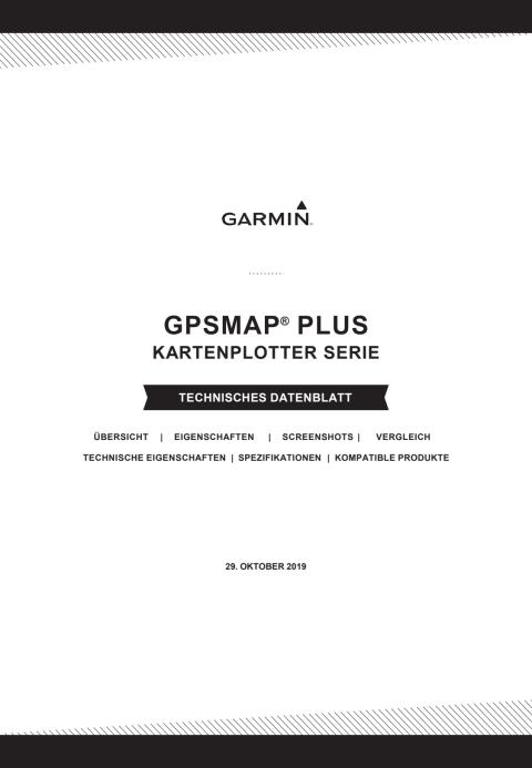Datenblatt Garmin GPSMAP Plus
