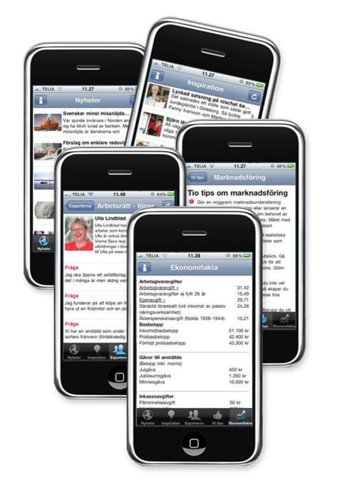 Vismas första program för iPhone