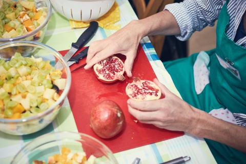FødevareBanken - Tingbjerg Kirke mad