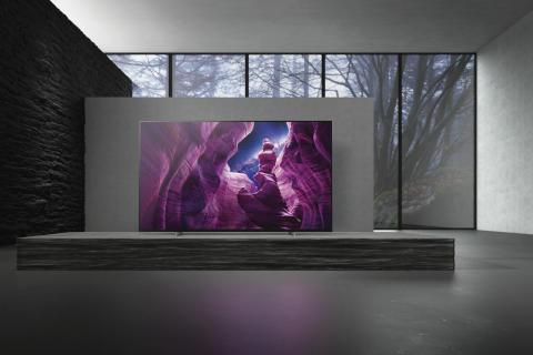Sonys nya A8 4K HDR OLED TV nu tillgänglig