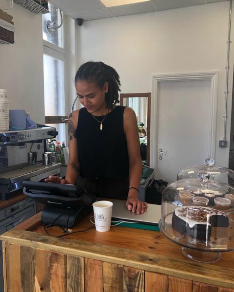 Vegan coffee shop opens at Bellingham station