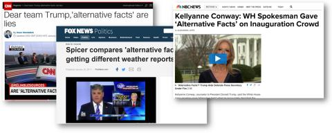"Media Savvy: Do ""alternative facts"" really exist?"