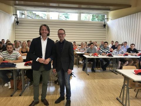 Santander und Hochschule für Wirtschaft und Umwelt Nürtingen-Geislingen kooperieren bei Nachwuchsförderung