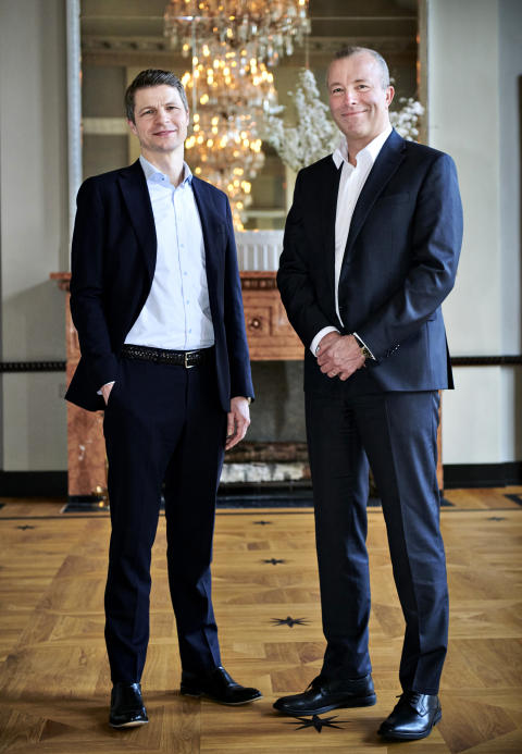 CEO Peter Lytzen (right) og CCO Søren Karas (left)