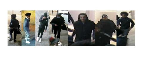 Images of seven males