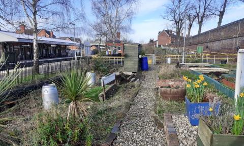 Hard work of Worcestershire Community Rail Partnership formally recognised