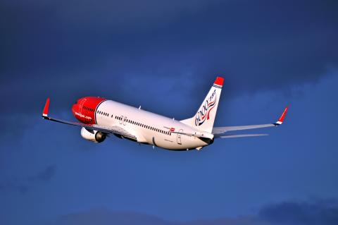 "Norwegian awarded ""Best European low-cost airline"""