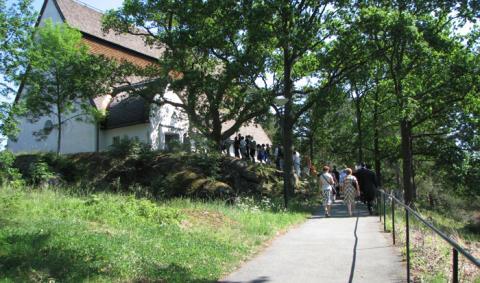 Sista avslutningen för diakonstudenterna på Ersta Sköndal högskola
