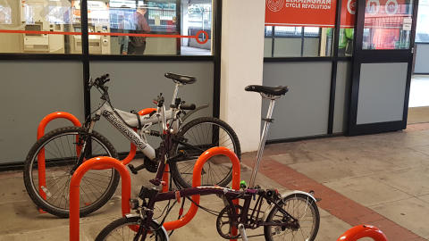Funding announced to encourage more people to cycle to their local railway station