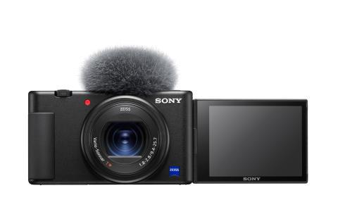 Sony lancerer nye kameraer til vlogging: Vlogkameraet ZV-1 og det kompakte FDR-AX43 4K handycam®