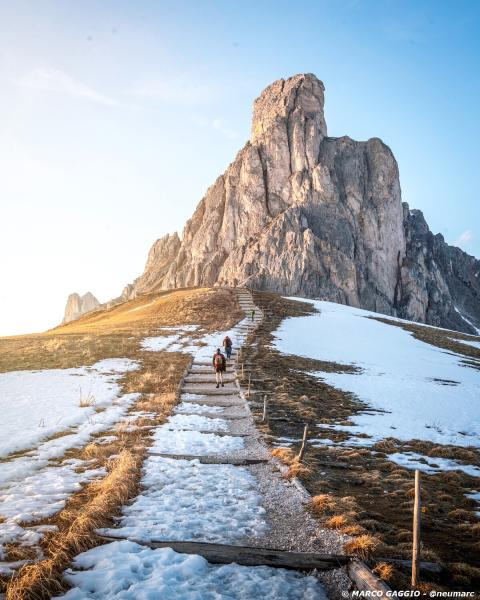 Marco Gaggio - Monte Nuvolau