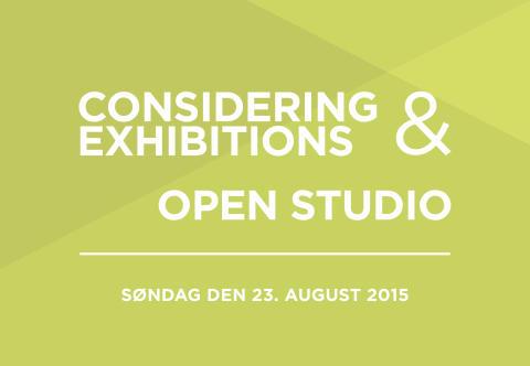 Bikubenfonden inviterer til symposium om udstillinger samt open studio