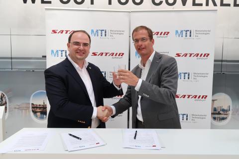 MTI - Satair Group signing