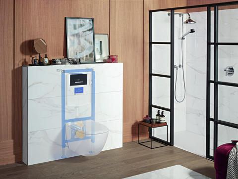 New features for Villeroy & Boch installation systems:  ViConnect is now even easier to install