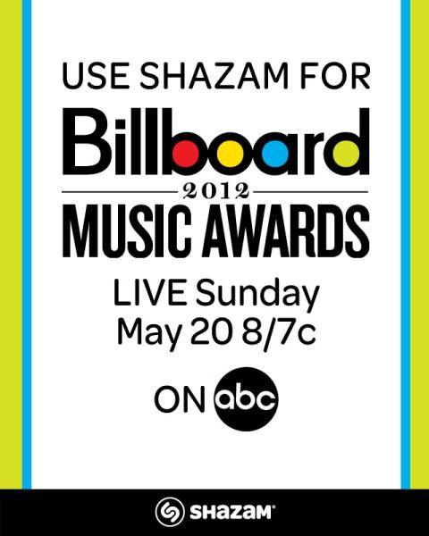 This Sunday's Billboard Music Awards are Shazam-Enabled with the Music of Performers and Nominees