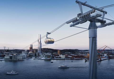 Göteborgs Stad söker team som formar bästa linbanan