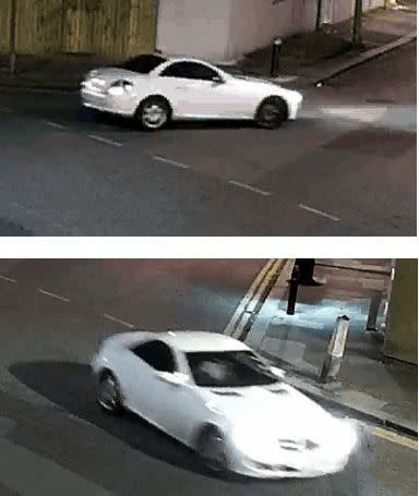 Appeal to trace Mercedes linked to music studio shooting