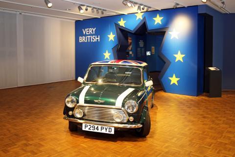 """""""Very British. Ein deutscher Blick"""" - neue Ausstellung im Zeitgeschichtlichen Forum Leipzig"""