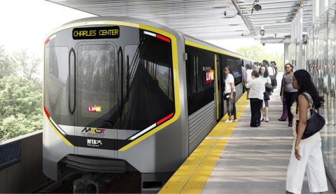 Hitachi Ansaldo Baltimore Rail Partners, LLC: si aggiudica un contratto da 400,5 milioni di dollari per la metropolitana di Baltimora assegnato da Maryland Transit Administration.