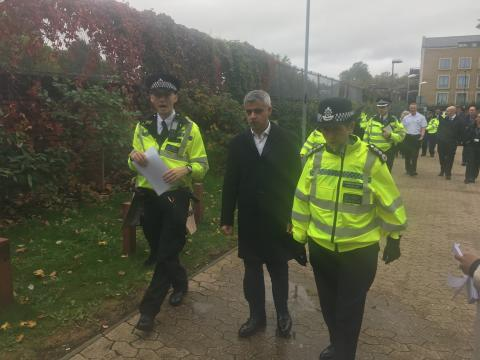 Commissioner and Mayor of London join anti-violence community event in Camden