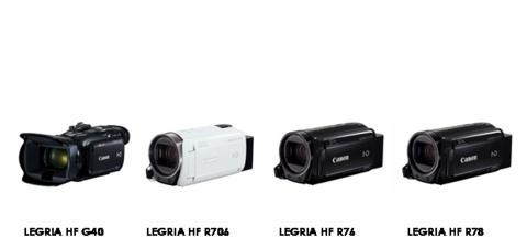 Canon lanserer LEGRIA HF G40- og ny LEGRIA HF R-serie