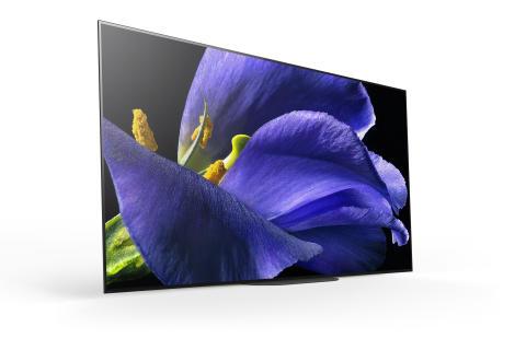 Los nuevos televisores de Sony OLED HDR 4K llegan a las tiendas con la serie AG8 y la AG9 Master Series