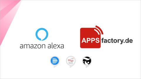 APPSfactory offiziell als Amazon Alexa Featured Agency und Experte für Voice Assistant Skills gelistet