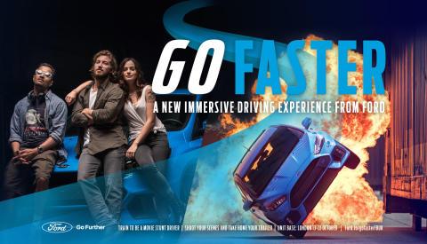 Eiqu Miller bliver stuntkører for Ford