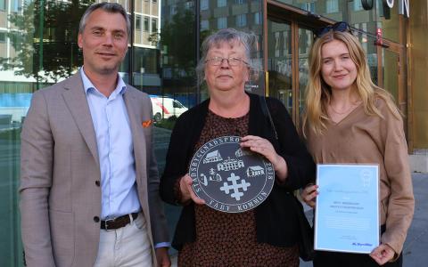 Mötesplatsen Esplanad är Årets stadsbyggnadsprojekt 2018