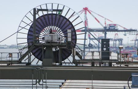 Cavotec reels on world's largest quay cranes
