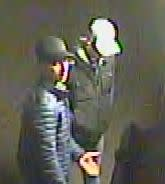 CCTV image of men officers would like to speak to in relation to a theft in Amersham